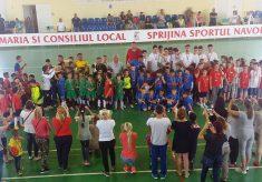 """Copii fericiți la """"Cupa 1 Iunie"""" de la Năvodari"""