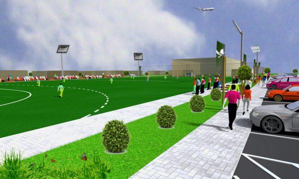 Tinerii din Năvodari vor avea un nou teren de sport