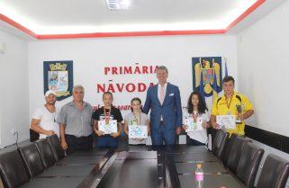 Campionii orașului Năvodari sunt apreciați de autoritățile locale