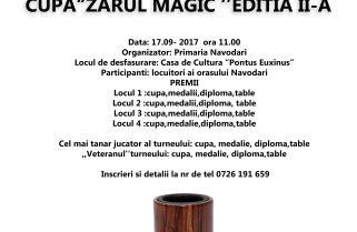 "La Năvodari se va disputa Cupa ""Zarul Magic"""