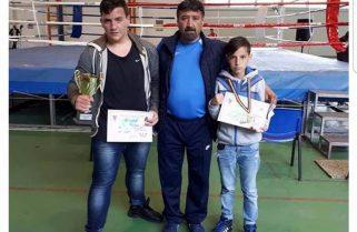 Aur și bronz pentru CS Năvodari la Naționalele de box cadeți