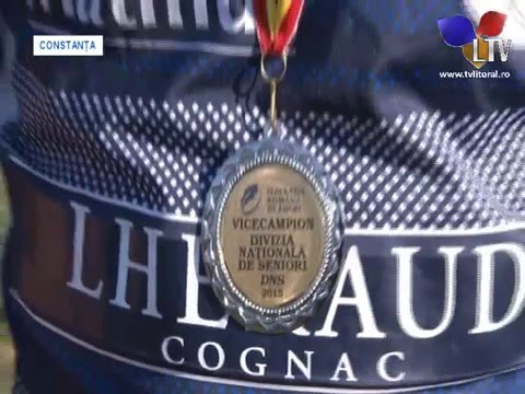 C.S. Năvodari a primit trofeul de vicecampioană