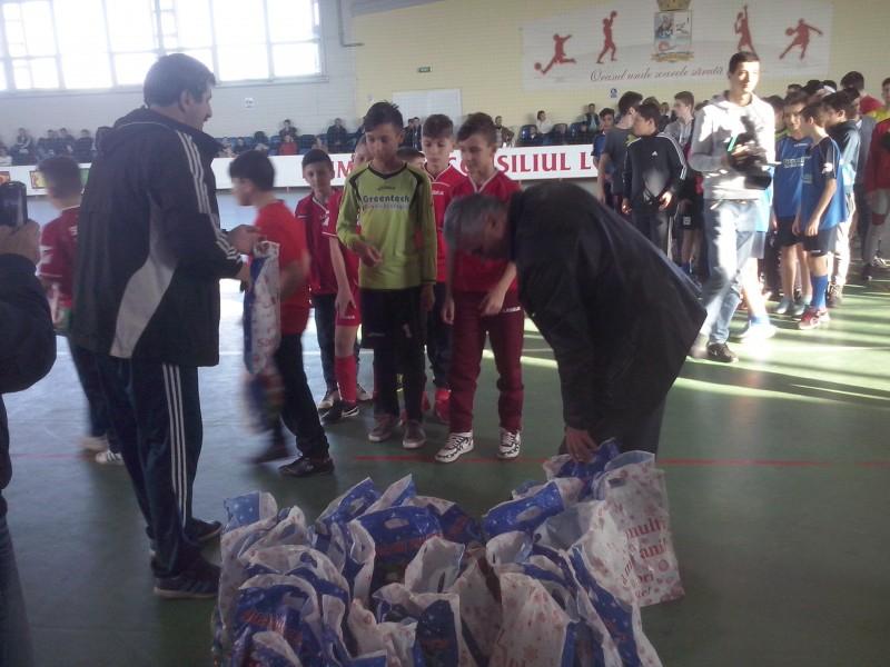 Micuții fotbaliști de la CS Năvodari au fost premiați