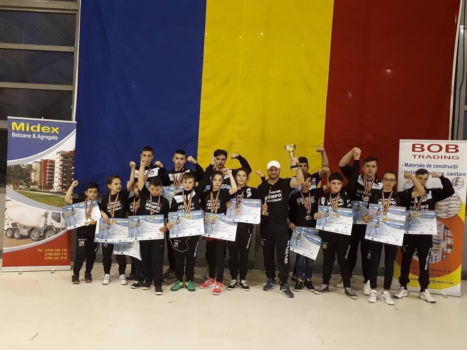 CS Năvodari a câștigat 31 de medalii la Naționalele de Freestyle Kickboxing