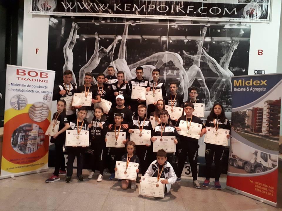 CS Năvodari a câștigat 17 medalii la Naționalele de kempo