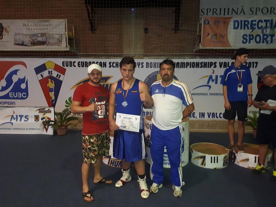 Albert Potoceanu de la CS Năvodari este vicecampion european