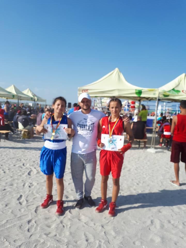 Aur și argint pentru CS Năvodari la Naționalele de box