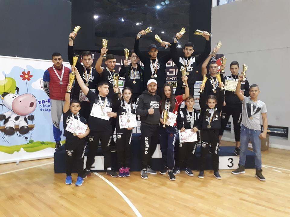 Evoluții excelente pentru sportivii de la CS Năvodari la Cupa Shin-Dojo