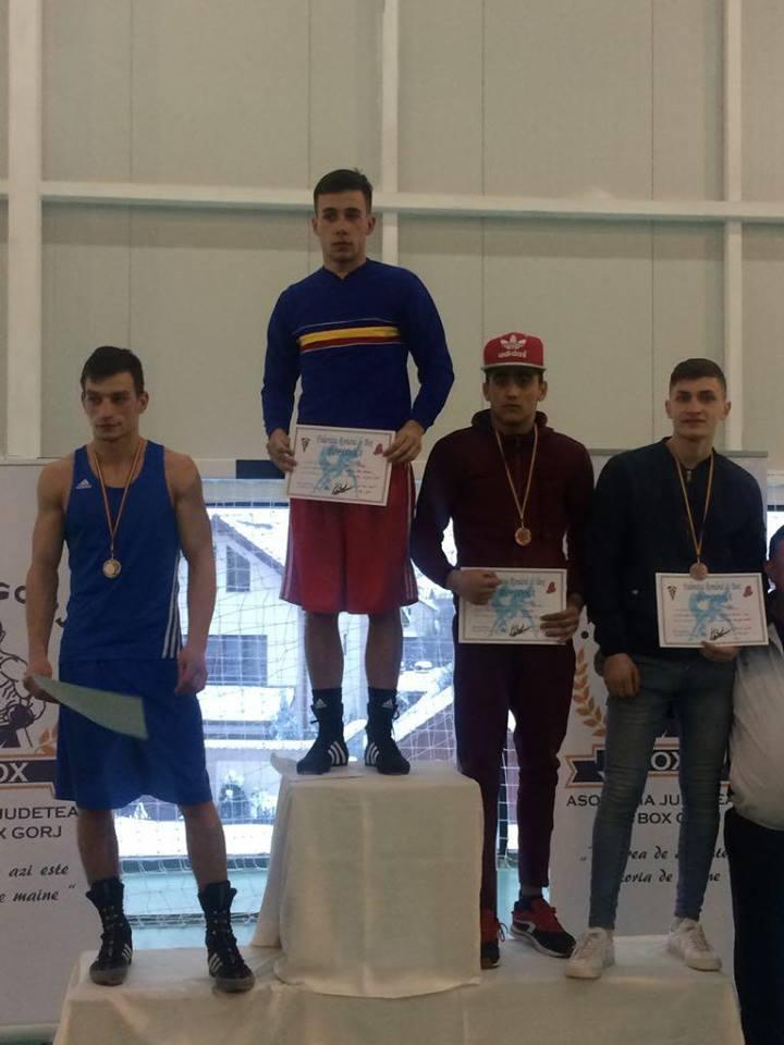 Cornel Costea a luat bronz la Naționalele de box