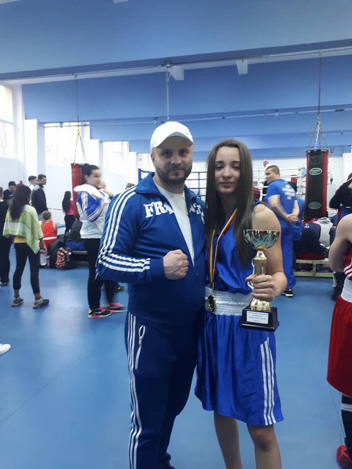 Diana Brânză de la CS Năvodari și-a adjudecat Cupa României la box