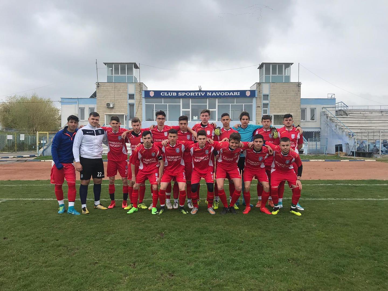 Victorii clare pentru fotbaliștii juniori și seniori de la CS Năvodari