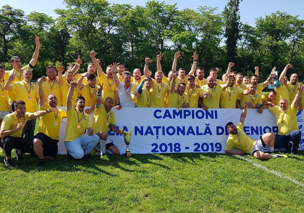 FOTO – CS Năvodari, campioana DNS !