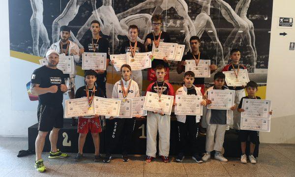 Medalii pentru CS Năvodari la Campionatul Național de Kempo K1
