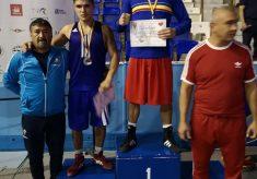 Medalie de argint pentru Alexandru Cuciureanu de la CS Năvodari la Naționalele de box