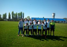Juniorii B1 de la CS Năvodari au disputat primul meci din campionat