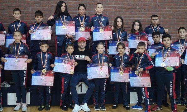 Sportivii de la CS Năvodari au câștigat 19 medalii la Naționalele de Kempo K1