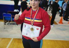 Maria Cimpoieru de la CS Năvodari s-a clasat pe locul 5 la Campionatul European