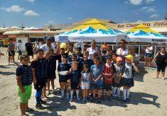 """CS Năvodari pe primul loc la turneul """"Oval Beach"""""""