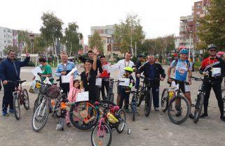 """Evenimentul """"Bicicleta – mijloc de locomoție și sănătate"""" a avut parte de succes la Năvodari"""
