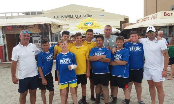 """Tinerii rugbyști de la CS Năvodari participă la turneul """"OVAL BEACH RUGBY ROMANIA 2019"""""""