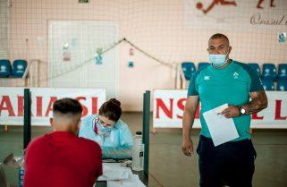 """Antrenori, sportivi și oficiali de la CS Năvodari au donat sânge în cadrul campaniei """"Și tu poți fi erou, donează sânge !"""""""