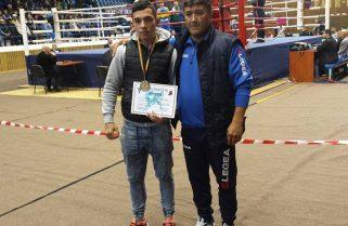 Bronz pentru Cezar Andrieș la Naționalele de box
