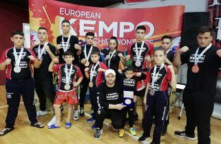 CS Năvodari a câștigat 12 medalii la Campionatul European de kempo