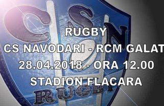 CS Năvodari își dorește o victorie cu punct bonus în meciul cu RCM Galați