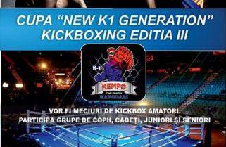 "CS Năvodari organizează ""CUPA NEW K1 GENERATION"""