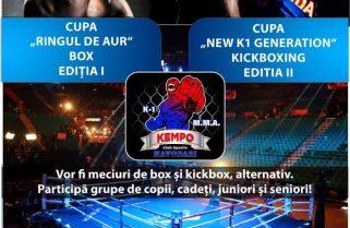 Competiții de box și kickbox la Năvodari