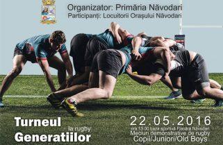 Competiție de rugby la Năvodari
