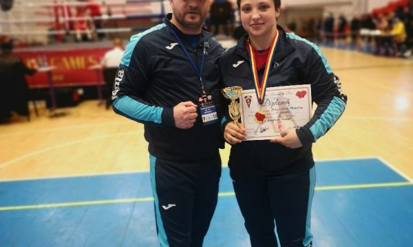Maria Cimpoeru de la CS Năvodari va boxa la Campionatul European din Georgia