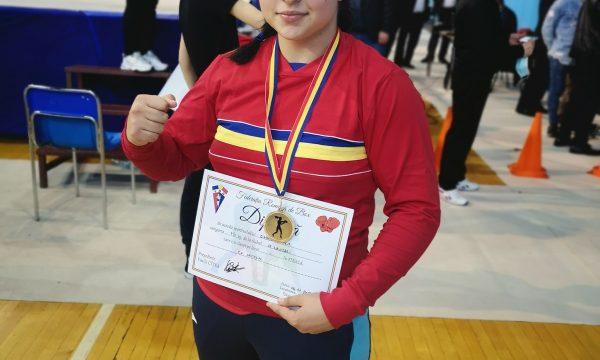 Medalie de bronz la Campionatul European pentru Maria Cimpoeru de la CS Năvodari