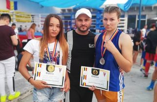 Aur și argint pentru CS Năvodari la Naționalele de box feminin