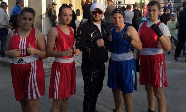 Sportivele de la CS Năvodari se pregătesc intens pentru Campionatul Național de box