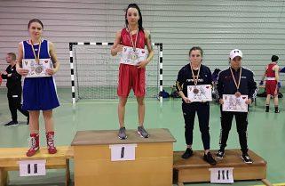 Medalii pentru CS Năvodari la Cupa României de box feminin