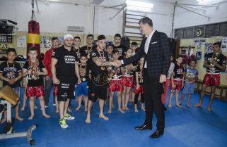 Viceprimarul Florin Chelaru este alături de sportivii din Năvodari