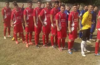 Fotbaliștii de la CS Năvodari i-au dedicat victoria lui Ciprian Cazan