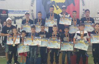 CS Năvodari a câștigat 23 de medalii la Cupa României