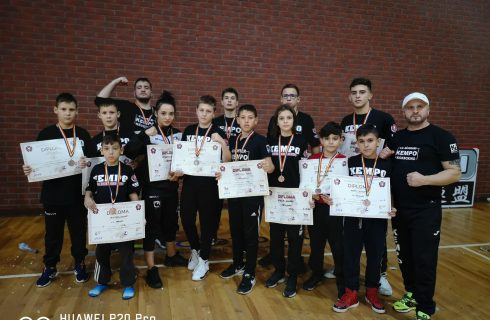 Sportivii de la CS Năvodari au câștigat 36 de medalii la Cupa României