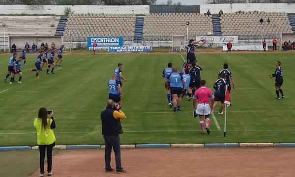 Recital al rugbyștilor de la CS Năvodari