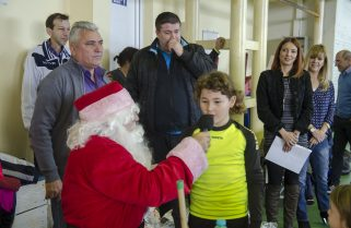 Copiii de la CS Năvodari au primit daruri multe de la Moș Crăciun