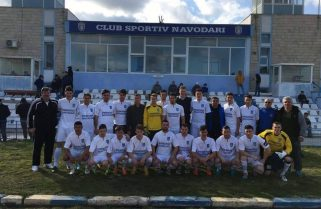 Fotbaliștii de la CS Năvodari vor sărbători promovarea, alături de suporteri