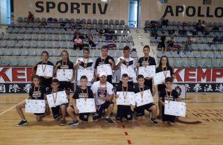 CS Năvodari a câștigat 14 medalii la Cupa României de Kempo K1