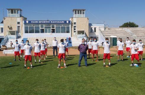 Tinerii fotbaliști de la CS Năvodari și-au primit medaliile de campioni