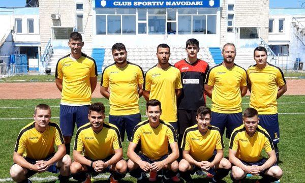CS Năvodari s-a clasat pe primul loc și va juca finala Cupei României – faza județeană