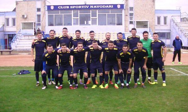 Fotbaliștii de la CS Năvodari încep campionatul cu un meci pe stadionul propriu