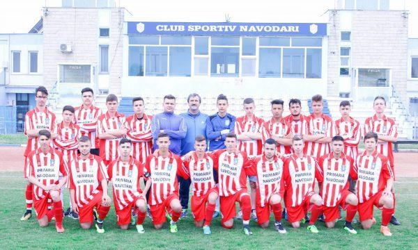 Victorii pe linie pentru fotbaliștii de la CS Năvodari