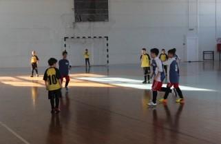 Turneu de fotbal în Sala Sporturilor din Năvodari