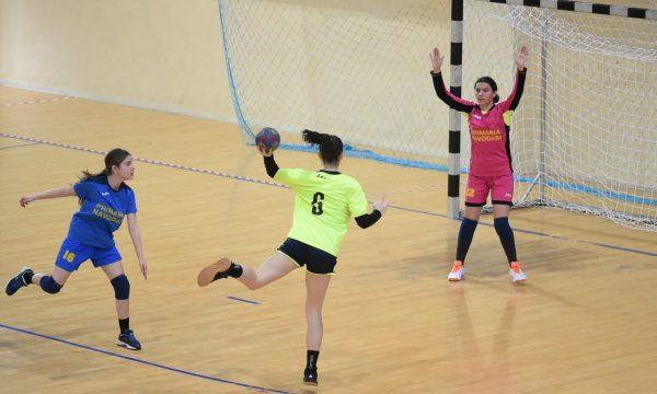 Junioarele 2 de la CS Năvodari și-au încheiat meciurile din primul turneu al Campionatului Național de handbal feminin